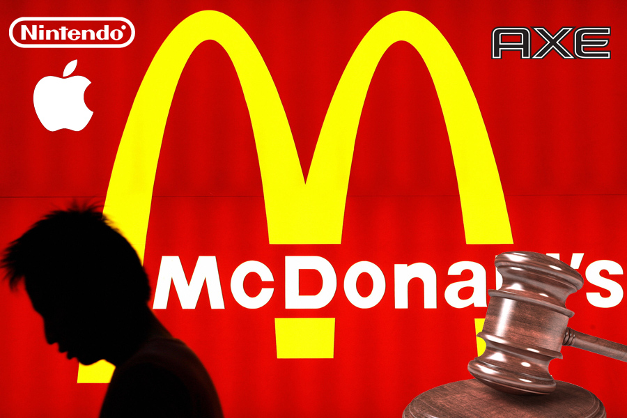 McDonald's, Apple, Nintendo, Axe, Demanda, Kienyke