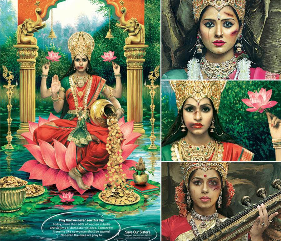 Diosas maltratadas, India, Maltrato a la mujer, Kienyke
