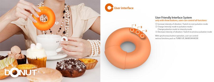Donut vibrador, juguetes sexuales, kienyke