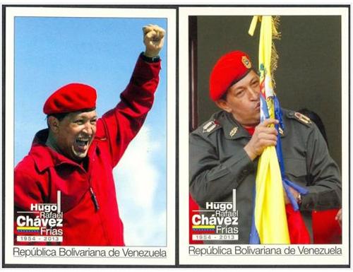 Estampillas de Hugo Chavez, kienyke