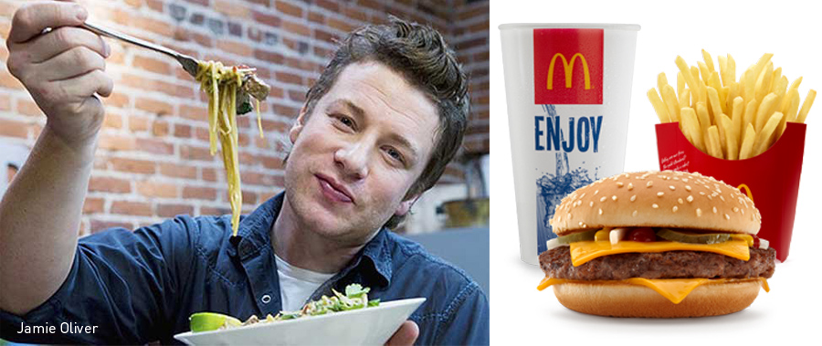 Jamie Oliver, Kienyke