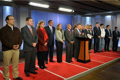 Juan Manuel santos Santos ministros, kienyke