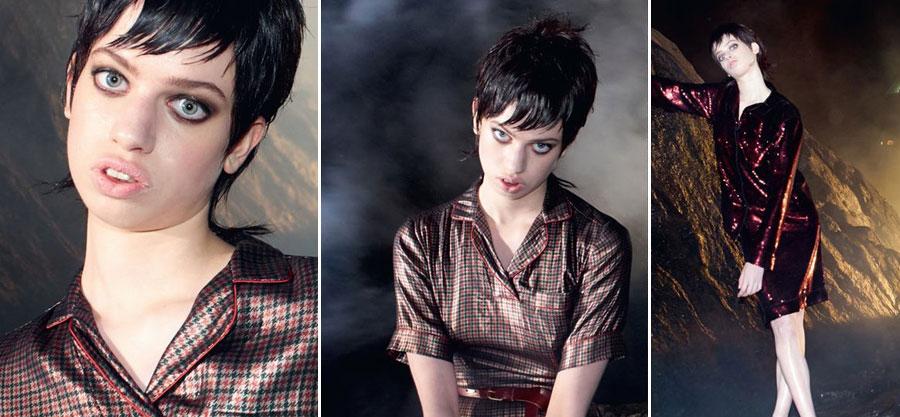 Lily McMenamy, Modelo, Kienyke