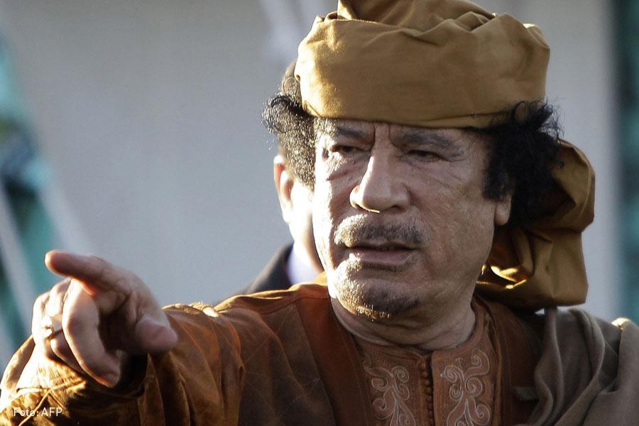 Muammar Gaddafi, Kienyke