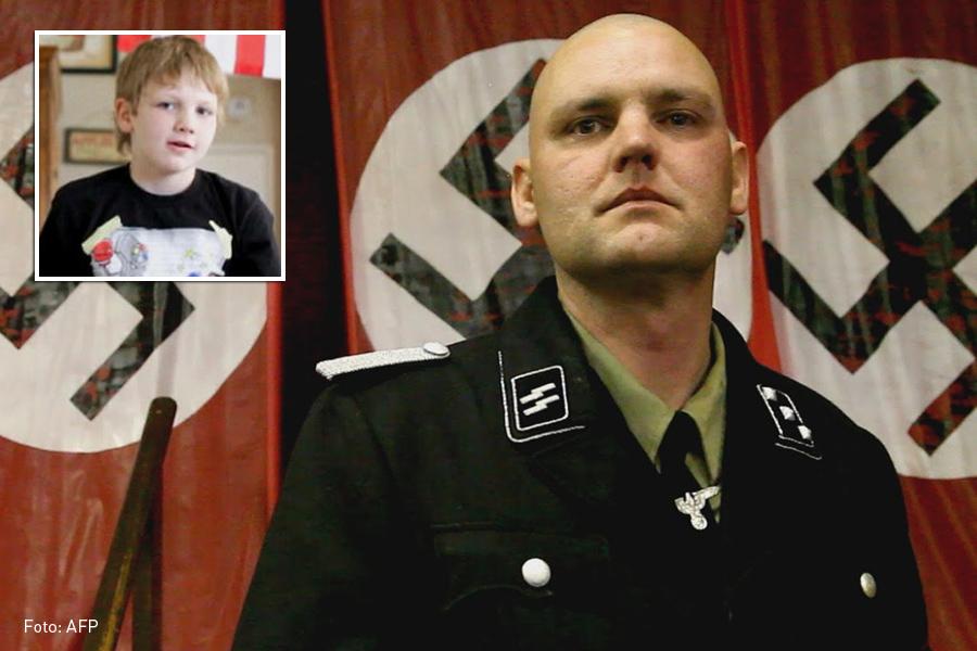 Neonazi asesinado por su hijo, Joseph Hall, Kienyke