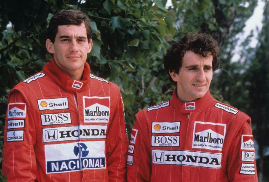 Alain Prost vs. Ayrton Senna, Kienyke