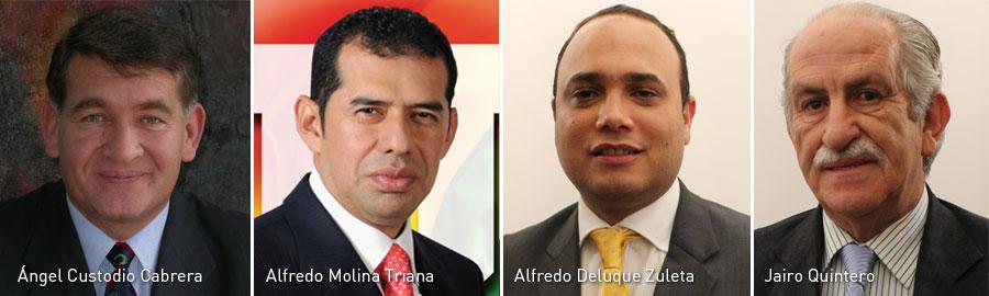 Angel Custodio Cabrera, Alfredo Molina Triana, Alfredo Deluque Zuleta, Jairo Quintero, Congresistas, Kienyke