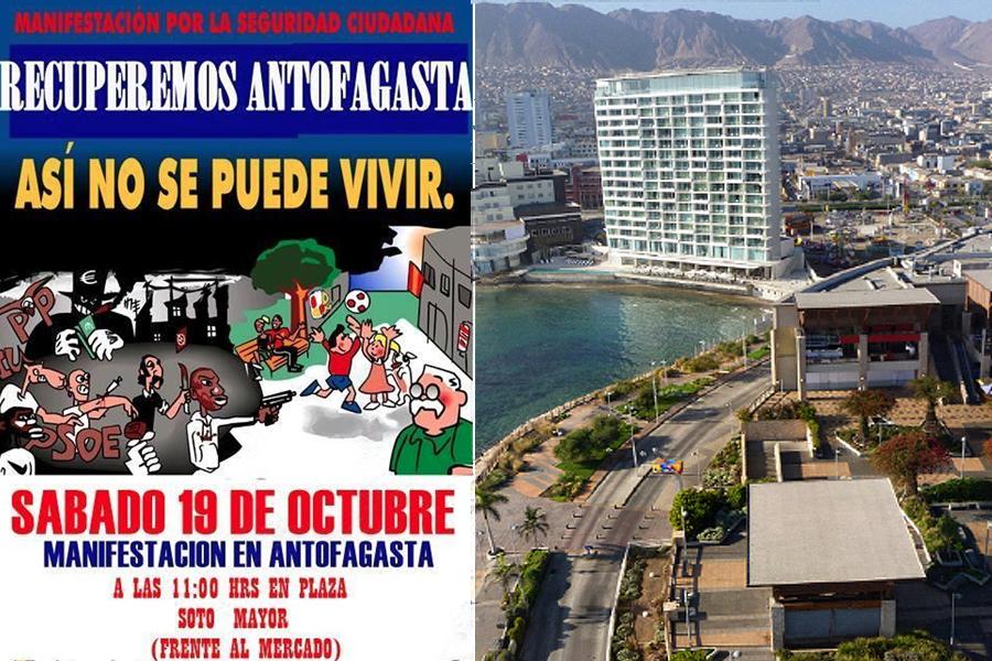 Antofagasta, Chile,racismo,Colombia,marcha, kienyke