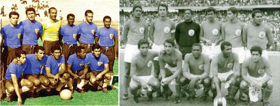Camiseta 1962 1969, Colombia, Kienyke