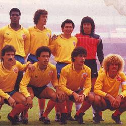Camiseta 1987, Colombia, Kienyke