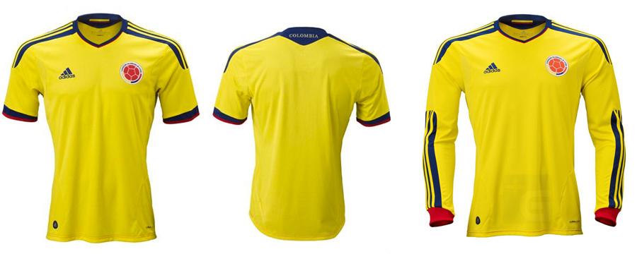 Camiseta Adidas, Colombia, Kienyke