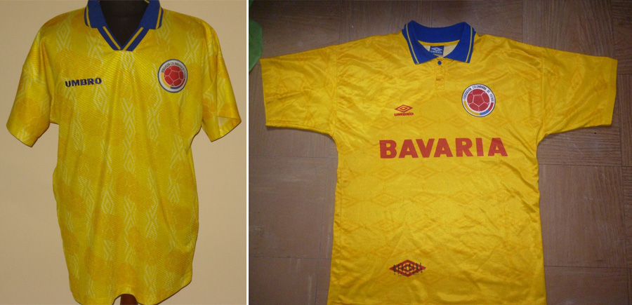Camiseta Umbro, Colombia, Kienyke