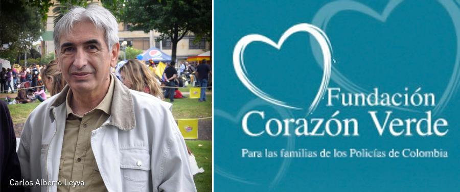 Carlos Alberto Leyva, Corazón Verde, Kienyke