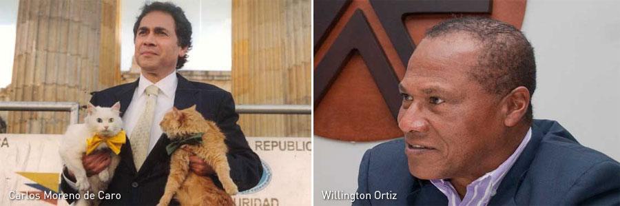 Carlos Moreno de Caro, Willington Ortiz, Kienyke