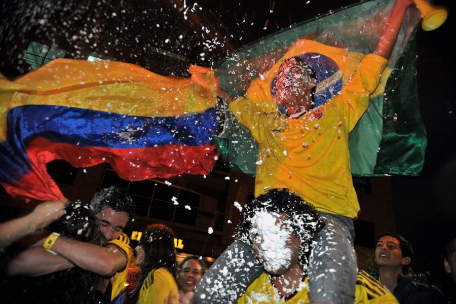 Selección Colombia,celebración