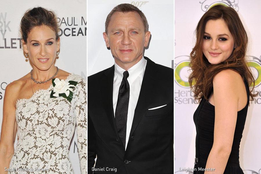 Sarah Jessica Parker, Daniel Craig, Leighton Meester, Kienyke