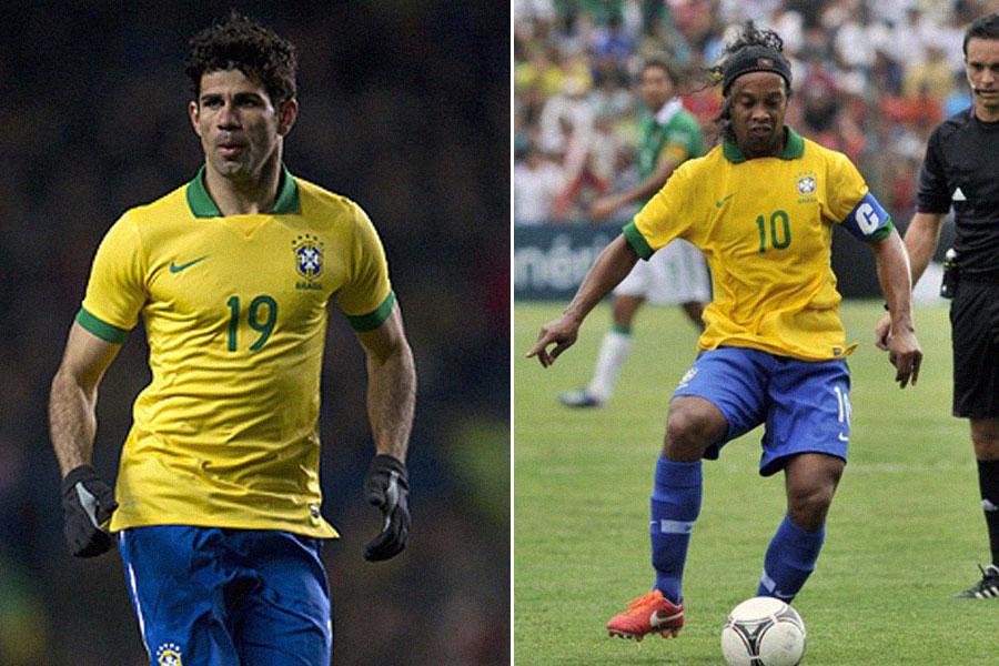 Diego Costa, Ronaldinho, Kienyke