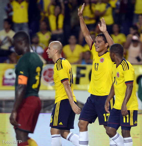 FBL-COLOMBIA-CAMEROON-FRIENDLY