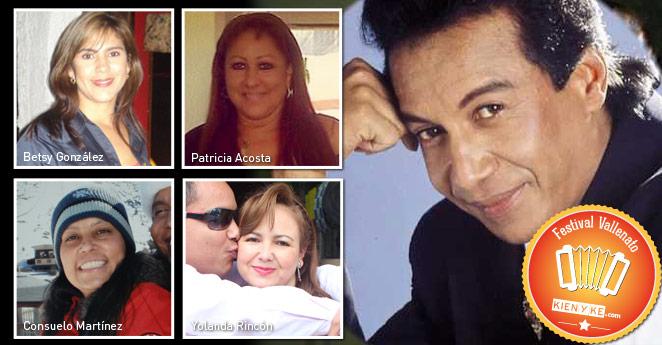 Estas son las 'viudas' que dejó Diomedes Díaz