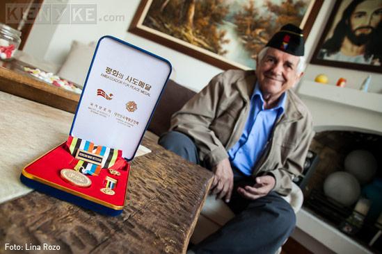 veterano de la Guerra de Korea