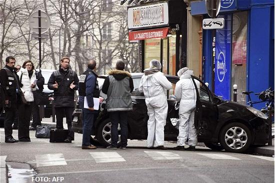 Atentado terrorista en Paris