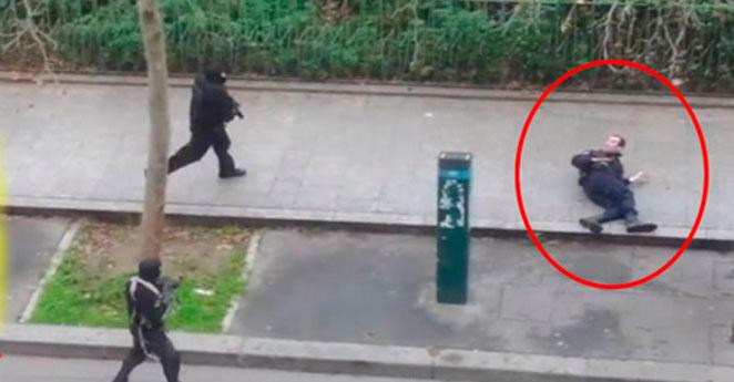 Alguien cree que la masacre de Charile Hebdo fue un montaje