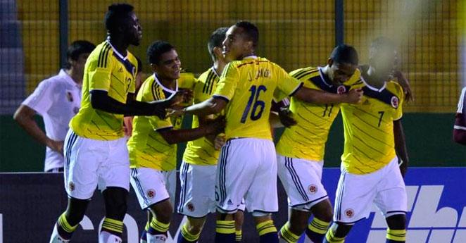 Selección Colombia clasificó al Mundial Sub-20