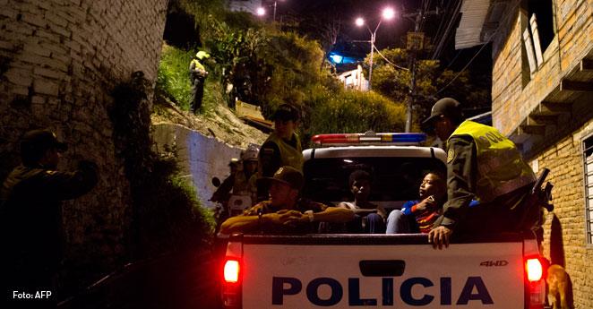 Siloe Cali, policia asesinado