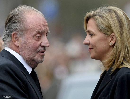 Cristina Infante y Rey Juan Carlos