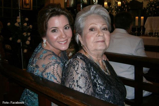 Elvira Castillo y Laura Dieppa