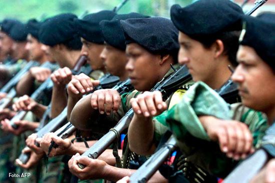 FARC, Fuerzas armadas revolucionarias