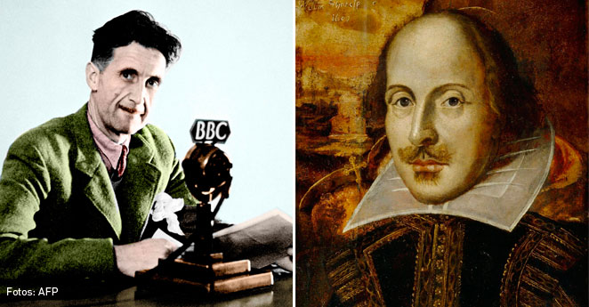George Orwell y William Shakespeare, William-Shakespeare