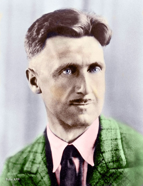 George Orwell escritor y periodista Británico