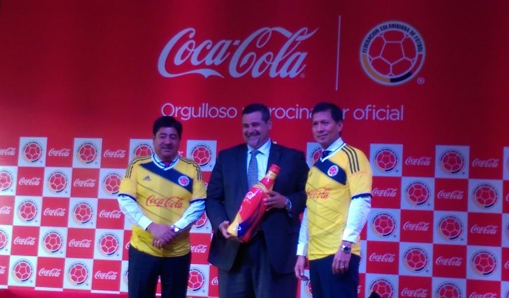 Selección Colombia Coca cola