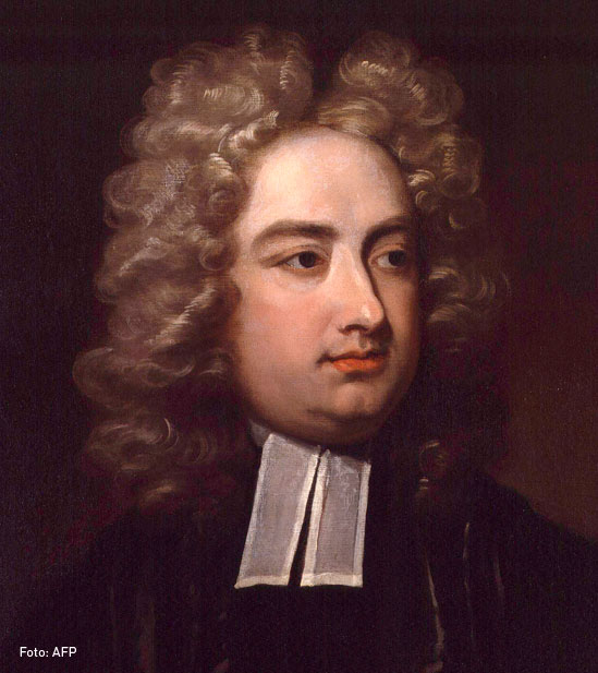 Jonathan Swift, escritor satírico irlandés