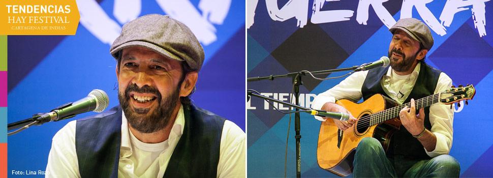 Juan Luis Guerra, Hay Festival 2015