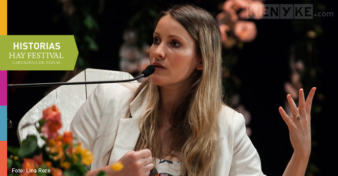 Laura Bates, Hay Festival 2015