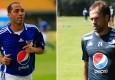 Mayer candelo y Federico Insua, jugadores de Millonarios