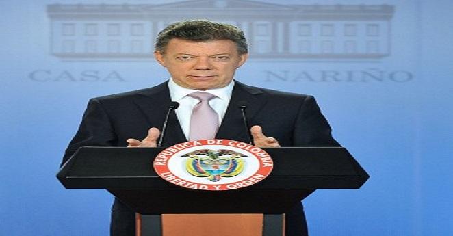 Santos dice que alto el fuego bilateral con FARC puede llegar antes de la paz