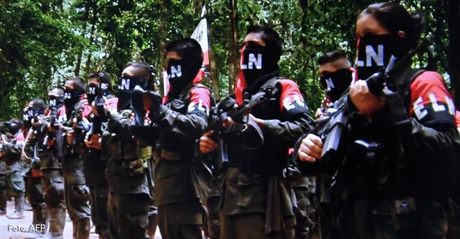guerrilla ELN Ejercito de Liberación Nacional