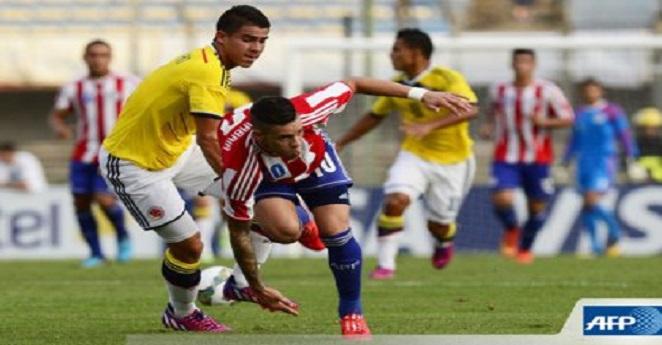 Colombia no pudo ganarle a Paraguay en hexagonal final de Sudamericano