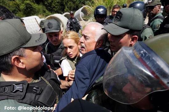 Leopoldo López agradeció el intento de visita de expresidentes Pastrana y Piñera