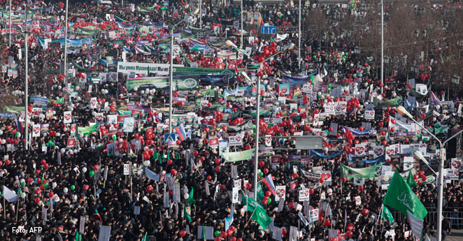 Un millón de personas protestan contra caricaturas Charlie Hebdo