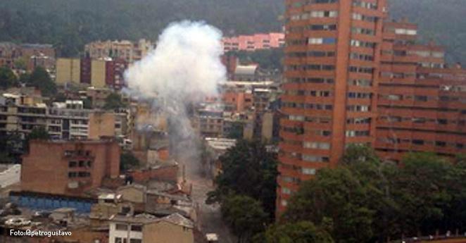 Policía detonó carga explosiva dejada en el centro de Bogotá