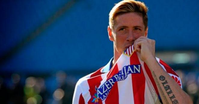 Torres, ante su esperado estreno en 'Champions' con el Atlético