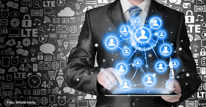 redes sociales, lider