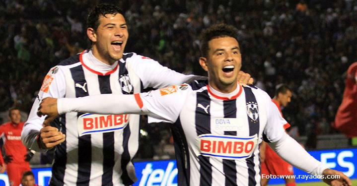 Edwin Cardona marcó tres goles en la victoria de Monterrey