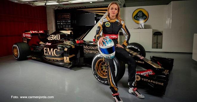 La sensual piloto de la F1 que genera envidia