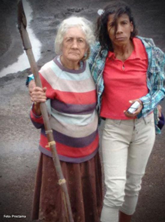 Celmira y Dora Palomino