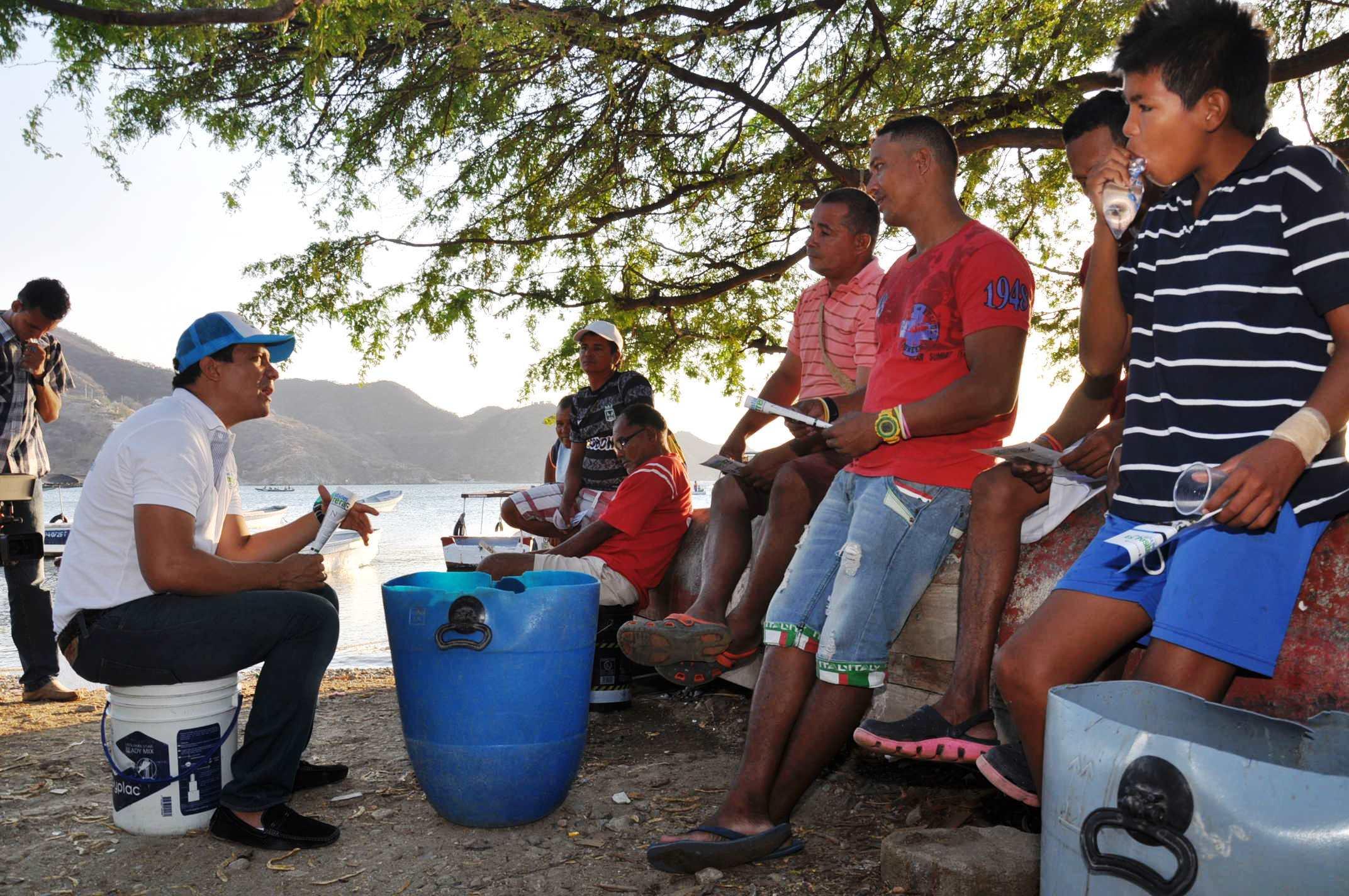 Samarios se oponen al tren carbonero por el corredor turístico